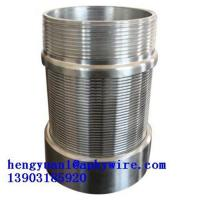 Rod based continous slot welded wedge wire screen Manufactures