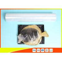 Fresh Stretch Pvc Cling Film Food Wrapping , Transparent Soft Catering Plastic Wrap Manufactures