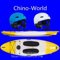 Paddle board with SUP paddle/helmet Manufactures