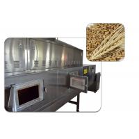 China High Efficiency Conveyor Belt Agriculture Microwave Sterilization Machine Silvery White Color Stainless Steel on sale