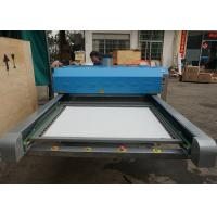 Polyester Apparels Large Format Heat Press Machine With Dual Work Table Manufactures