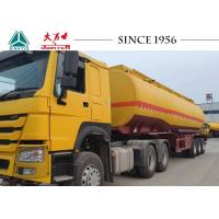 China 40 Tons Tri Axle Oil Fuel Transfer Trailer With Spring Suspension For Malawi on sale