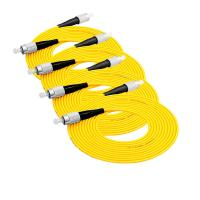 Lc To Lc Single Mode Optical Fiber Patch Cord 3m / 5m Standard Length Manufactures