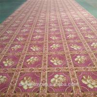 China Needle punched Polyester non-woven fiber printed carpet on sale