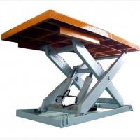 China 500kg Small Elevated Electric Hydraulic Work Platforms Lift Tables on sale