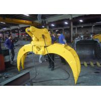 Light Weight Wood Grapple Attachment / Timber Grapple Anti Clockwise Manufactures