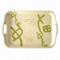 Melamine Tray, Custom Designs, Sizes and Shapes Available Manufactures