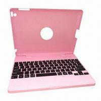 Clamshell All-in-One Keyboard Case and Stand for iPad 2/3/HD, with 3,000mAh Capacity Manufactures