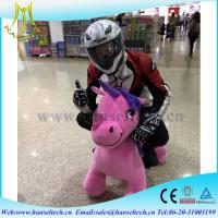 Hansel  high quality coin operated animal scooters motorized bicycle electric toy dinosaur  for shopping mall Manufactures