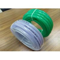 Multipurpose PVC Braided Hose Transparent 1 Inch Water Hose 2mm - 8mm Thickness Manufactures