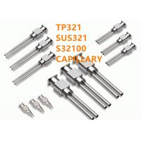 China TP321 Stainless Steel Special Alloys Capillary High Temperature Resistance on sale