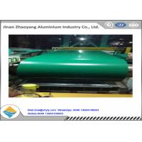 Plain Finish 1100 H14 Color Coated Aluminum Coil / Painting Aluminium Coil With PE Manufactures
