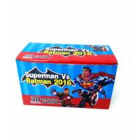 Heroes Series-Superman VS Batman Chewy Candy Looks Clolorful Tastes Sweet Manufactures