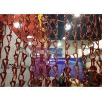 China Aluminum Double Hooks Chain Link Fly Screen For UK Market on sale