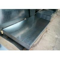 China Hot Dipped Galvanized Steel Sheet / Coils Zinc 40g - 275g Regular Spangle From Baosteel wholesale