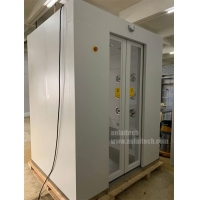China Customized automatic air shower pass cleanroom on sale