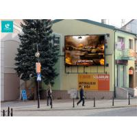 China CE Approved Outdoor Advertising LED Display For Pedestrian Zone / Metro on sale