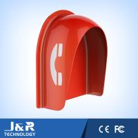 Fiberglass Reinforced Polyester Acoustic Phone Booth Pillar Dust Proof For Streets Manufactures