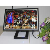 Large 19 Inch Video / Audio WIFI Digital Photo Frame With Video Loop Play Manufactures