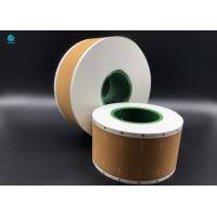 Lip Release Yellow Cork Tipping Paper For Filter Rod Packaging In Cigarette NTM Manufactures