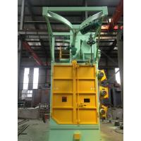 China Overhead Rail Hook Shot Blasting Machine High Efficiency For Oil Tank Propane Tank on sale