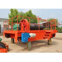 Double Rail Wire Rope Electric Hoisting Winch Trolley For Overhead Crane