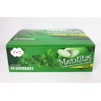 8g Strong Mint Flavor Compressed Candy Packed In Plastic Round Box Manufactures