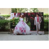 2021 new year wholesale 3d lenticular printing wedding photos with depth 3d moving effects by UV flabed printer Manufactures