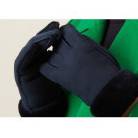 China Unisex Real Sheepskin Gloves on sale