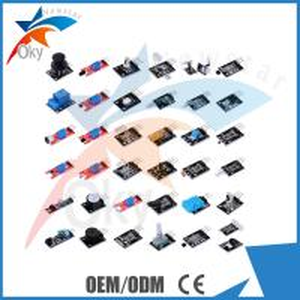China Circuit board Starter Kit For Arduino , 37 in 1 Arduino Compatible Sensor Module Kit on sale