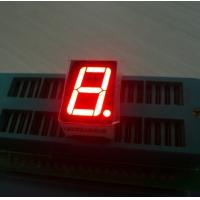 Ultra red 14.2mm Single Digit 7 Segment Led Display common anode For Digital Indicator Manufactures