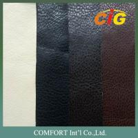 Flame Retardant PU Synthetic Leather for Sofa and Chairs / Upholstery Manufactures