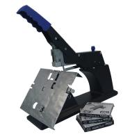 Flat Stapler 60 Sheet Manual Saddle Stapler Black Color Clip Platform Structure Manufactures