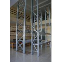 China Customizable Supermarket Storage Racks System Cold Rolling Steel Material on sale