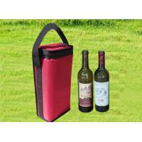 China 1680D oxford insulated cooler box wine bottle box for two wines on sale