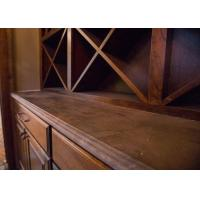 Natural Stone Resetaurant Custom Bar Countertops With Edges Finishing Manufactures