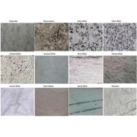 China Granite / Marble Prefab Vanity Countertops Anti - Stain For Hotel Bathroom on sale