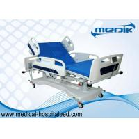 China Touch Screen Controller Electric Hospital ICU Bed  Double Column Structure For   Vertical Elevation wholesale