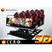 China Hydraulic 5d Cinema With Motion Platform 4d Motion Seat 5d Cinema System Movie Equipment on sale