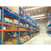 Q235 Steel Heavy Duty Pallet Racks Durable For Industrial Warehouse System Manufactures