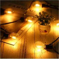 China Connectable Solar Outdoor String Lights 20pcs Globe G40 ECO LED Bulbs for Gazebo Garden Patio Party Wedding Christmas on sale