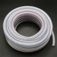 China China pvc plastic fiber braided high pressure colored reinforced tubing hose on sale