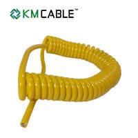 Black 7 Core Trailer Cable ABS Spring 6.0mm Overall Diameter Australia Standard Manufactures