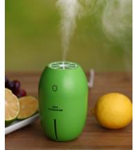 China 180ml USB Charge 4 Hours Auto Shut-off Car Lemon Mini Air Cool Mist Humidifier on sale