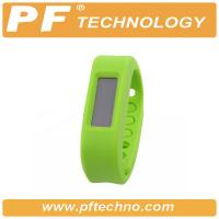 Green Bluetooth Watch Bracelet , Vibrating Bluetooth Bracelet With Android Manufactures