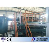 4000PCS / Hour Waste Paper Pulp Making Machine With Diesel / Gas Fuel Manufactures