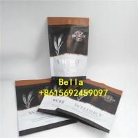 China Laminated Aluminum Foil Pouch Packaging Zip Lock Bag Stand Up Pouch Coffee Bag on sale