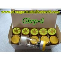 Injectable Muscle Mass Gaining Peptide Ghrp-6 Human Peptides Growth Hormone Releasing Hexapeptide