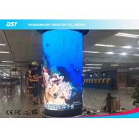 360 Degree Flex LED Video Wall , Waterproof Flexible LED Panel 1920Hz Manufactures