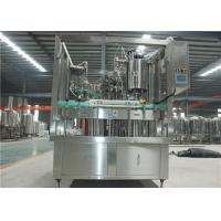 China 6-6-1 Beer Glass Bottling Machine Adopts Frequency Conversion Stepless Speed Regulation on sale